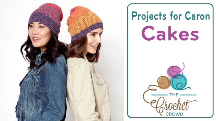 Crochet and Knit Projects using Caron Cakes - The Crochet Crowd