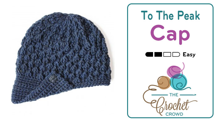 Crochet To The Peak Hat + Tutorial