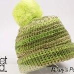 Mikey's Pom Pom Hat