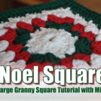 Brand New Video and Free Pattern: Noel Granny Square for Afghans