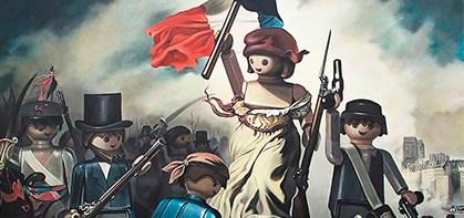 la liberté guidant le peuple