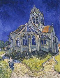 La iglesia de Auvers-sur-Oise (1890)