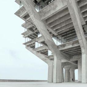 architecture by William Pereira Circa 1960