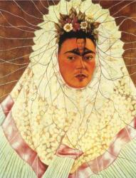 Autorretrato como Tehuana o Diego en mi pensamiento (1943).