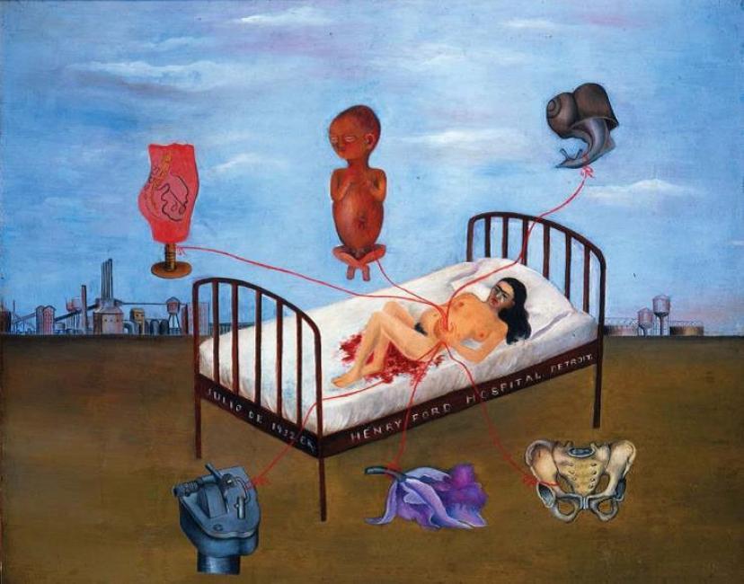 Henry Ford Hospital – La cama volando (1932).