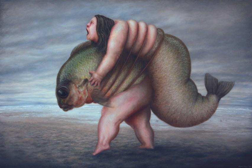 PONTIROLI_Untitled, Oil on canvas, 97x146cm, 2011