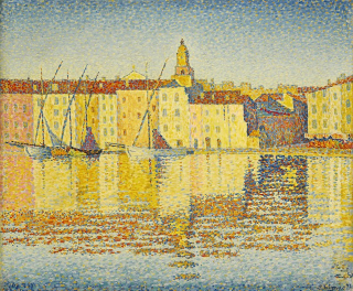 Paul_Signac_Maison_du_Port_Saint-Tropez_1892_