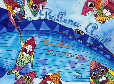 Álbum ilustrado La Ballena Azul
