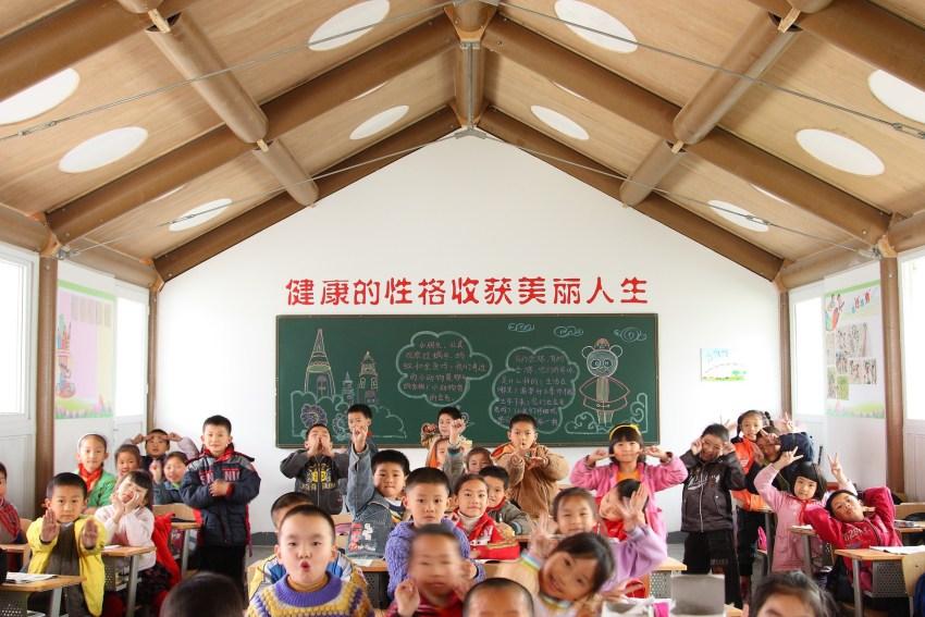 Escuela para afectados por terremoto en Japón, Shigeru Ban.