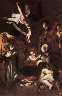 caravaggio-natividad-con-san-francisco-y-san-lorenzo-1609