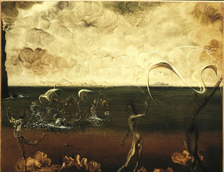 El triunfo de Nautilus de Dalí