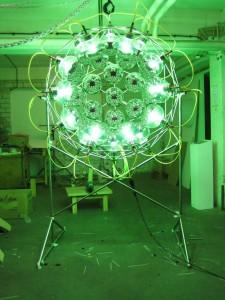 Global cooling lamp de Olafur Eliasson