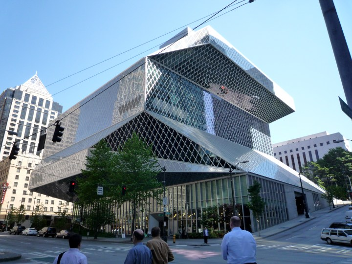 Biblioteca Central de Seattle. Rem Koolhaas