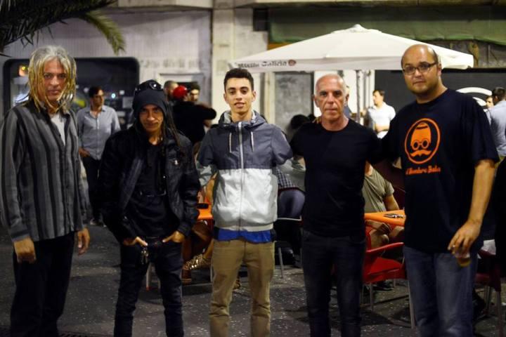 Julio Delgado con Javi Felipe, con Silver -13 Motos, Ataúd Vacante-, Fafe - Brutalizzed K