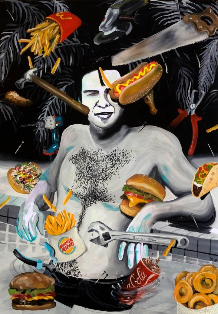 PORTADA Burt, tools and fast food, 2017