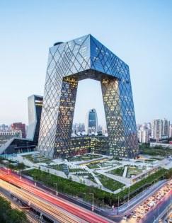 Sede TV China, Pekín. Rem Koolhas