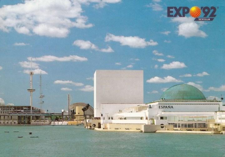 Pabellon España. Expo 92. Sevilla
