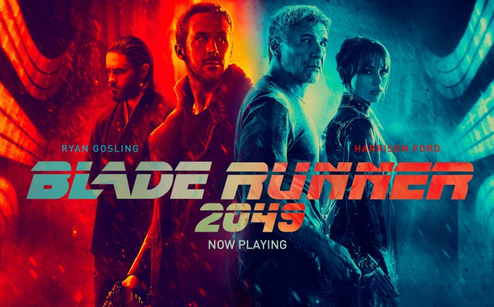 La película que será de culto (Poster promocional de Blade Runner 2049, extraido de eldiariointegral.cl)