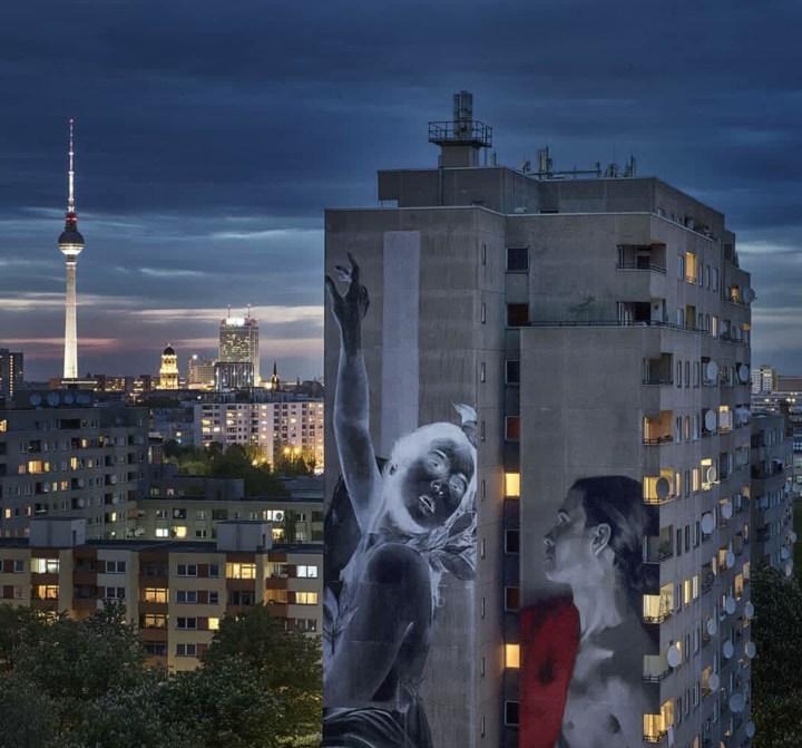 Foto 1 Francisco Bosoletti, Apolo y Dafne, 2018. Berlín, Alemania. Fotografía Nika Kramer