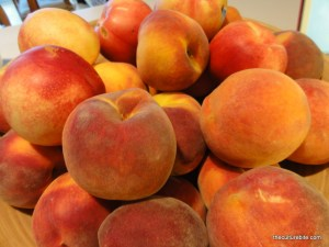 Peach Cobbler Peaches