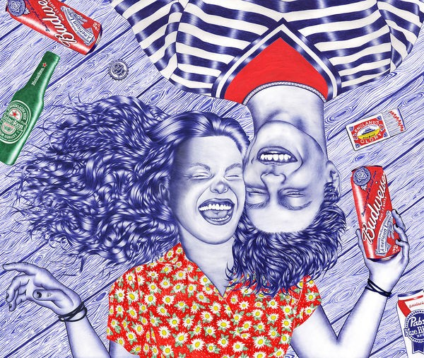 Ballpoint-Pen-Illustrations-by-Helena-Hauss-5-600x506