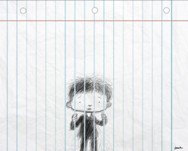 funnyimages,art,cute,drawing,notebookjail,prisoner-5d38bb8650b8c0df7070fc3cfccd8e8c_h