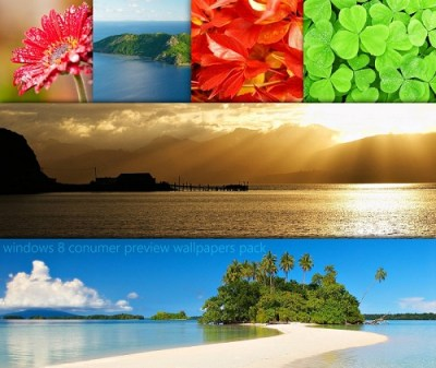 Windows 8 Consumer Preview Wallpaper Pack