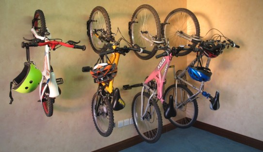 Safe and secure bike storage room