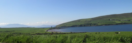 Dingle Bay as I headed off from the Dingle Skellig