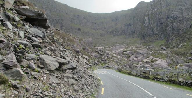 Irelands highest mountain pass- The Conor Pass