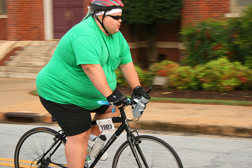 What about the heavy cyclist?