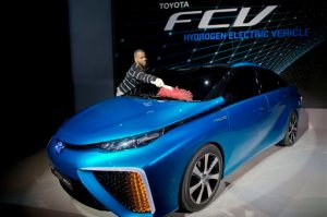 Toyota, FCV hydrogen electric concept car