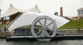 Canton water wheel raises more than $30,000 this month