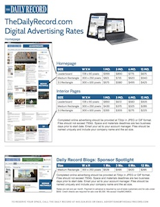 Digital Advertising Rates 2015