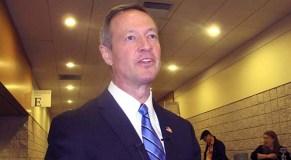 O'Malley won't run for Sen. Mikulski's seat
