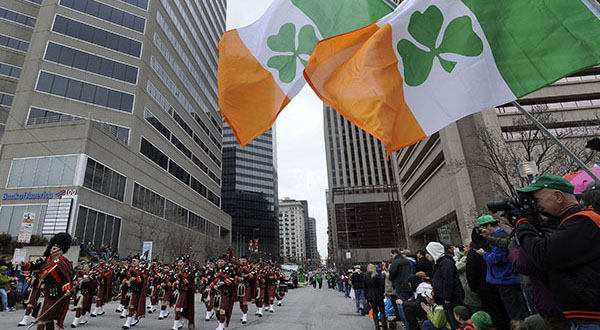 Baltimore not a St. Patrick's Day pub crawl paradise