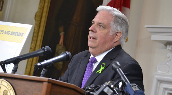 Md. Gov. Hogan out of hospital after first round of chemo