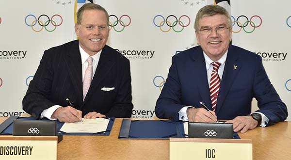 Discovery gets Olympic TV rights for Europe in $1.45B deal