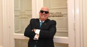 Hogan smiles, shows off new 'aerodynamic look'