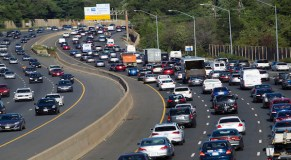 Improving economy shares blame for worst U.S. traffic ever
