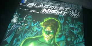 Today's lecture: Green Lantern – Blackest Night