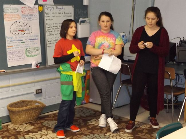 Turning things around: Students instruct teachers at Johnson Elementary