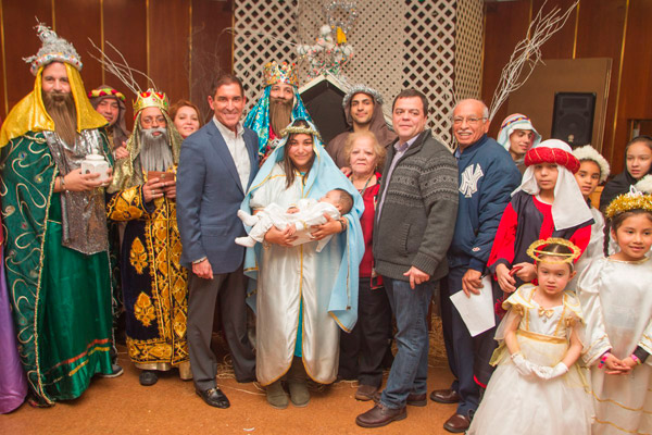 Senator Jeff Klein Celebrates Three Kings Day with Local Church