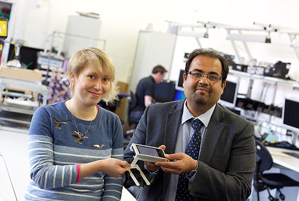 Nottingham professor designs app to help find veins for injections