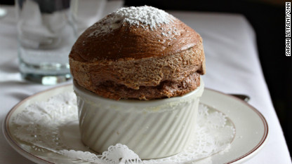 Rise to the occasion with homemade chocolate soufflé