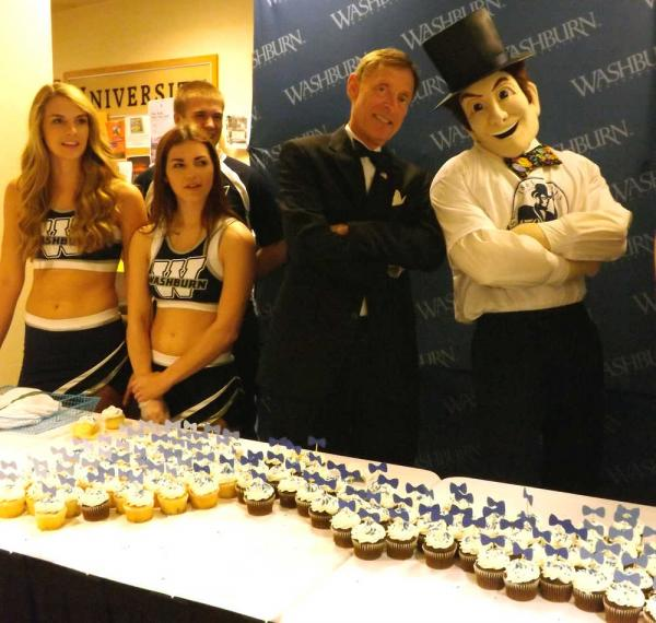 Washburn University celebrates benefactor's 217th birthday on National Bow Tie day