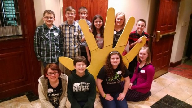 Wind Gap Middle School students make sure classmates belong