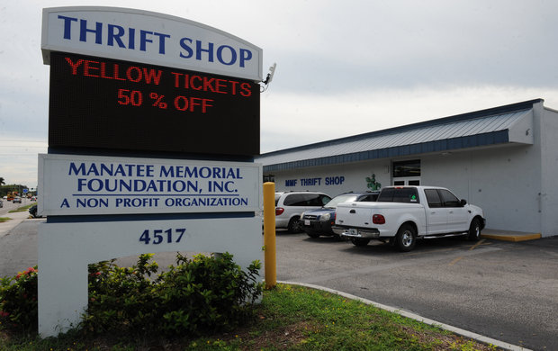 Goodwill Manasota, Manatee Memorial Hospital Foundation Thrift Shop recognize ...
