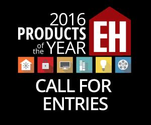 Electronic House 2016 Products of the Year Awards: Call for Entries