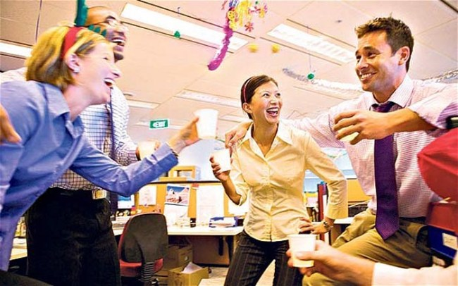 (Almost) Everyone Is Having Sex At The Office Party: Survey